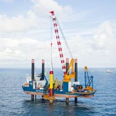 Gemini offshore windpark, een logistiek megaproject voor Van Oord