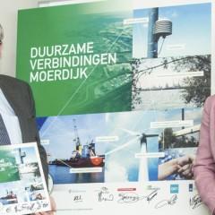 Haven- en industrieterrein Moerdijk gaat verder verduurzamen