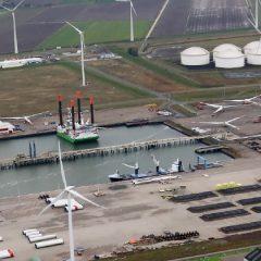 Maritieme afvalverwerker  Bek & Verburg in Eemshaven/Delfzijl