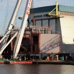 Barkmeijer op jacht naar orders in aantrekkende scheepsbouwmarkt