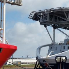 Dé service- en onderhoudshub  in de offshore
