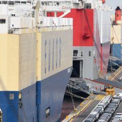Weer een record in nieuwe wagens voor Zeebrugge