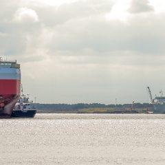 Roll-on/roll-off blijft stijgen in Zeebrugge