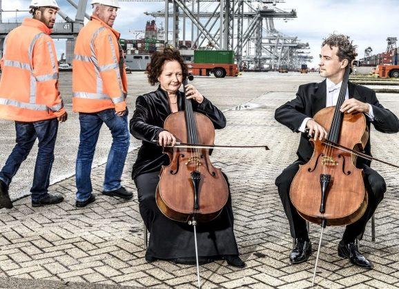 André Heuvelman en Joos van Leeuwen componeren haventune:  'Haven of Life, Oase van leven'