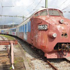 Spectaculair transport TEE-trein naar museum
